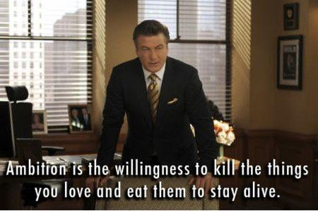 Ambition is the willingness to kill the things you love and eat them to stay alive Picture Quote #1