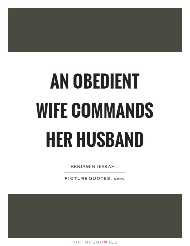 Obedient wife pics
