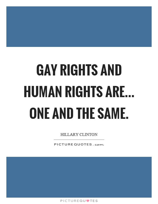 Gay Rights Quotes