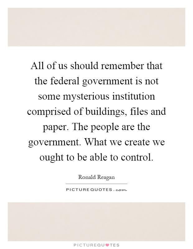 Government Essays