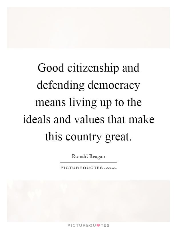 great citizenship essay