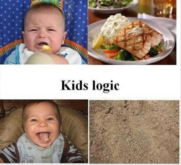 Kids logic Picture Quote #1