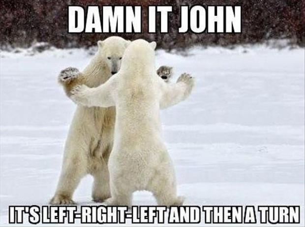 Damn it John, it's left-right-left and then a turn Picture Quote #1