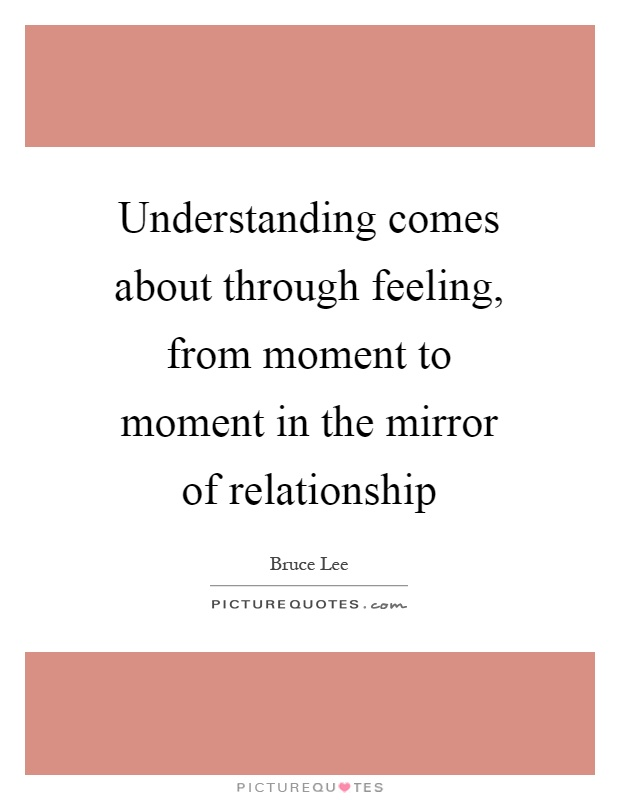 evolve through the mirror of relationship