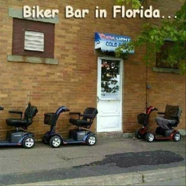 Biker bar in Florida Picture Quote #1
