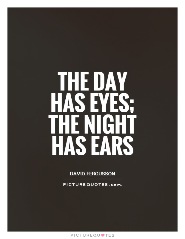 Quotation Of The Day Inspiration David Fergusson Quotes & Sayings 1 Quotation