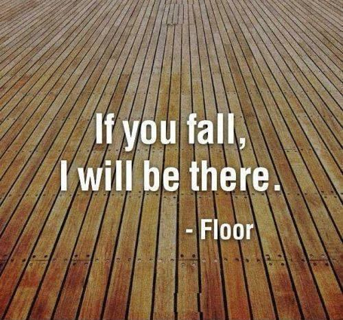 If you fall, I will be there Picture Quote #1