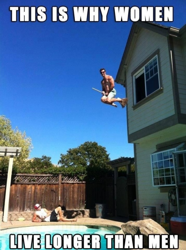This is why women live longer than men Picture Quote #2