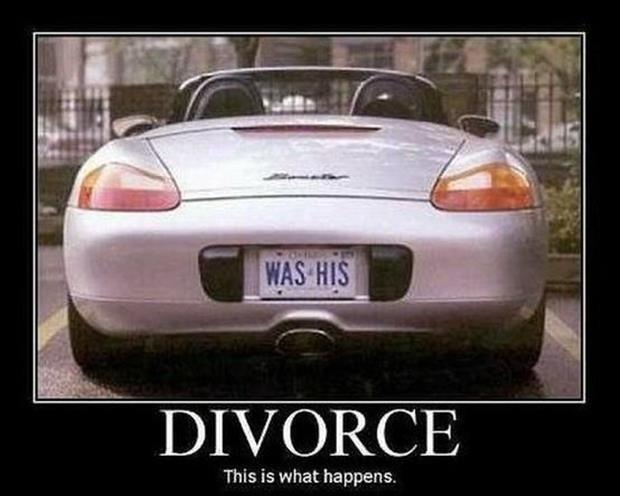 Divorce. This is what happens Picture Quote #1