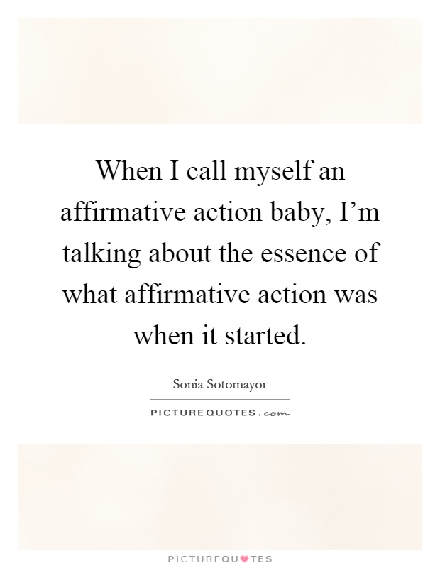 affirmative action it began in 1961 Affirmative action was started to eliminate discrimination in the workplace by hiring workers on a nondiscriminatory basis it began in 1961 by president kennedy when he issued executive.