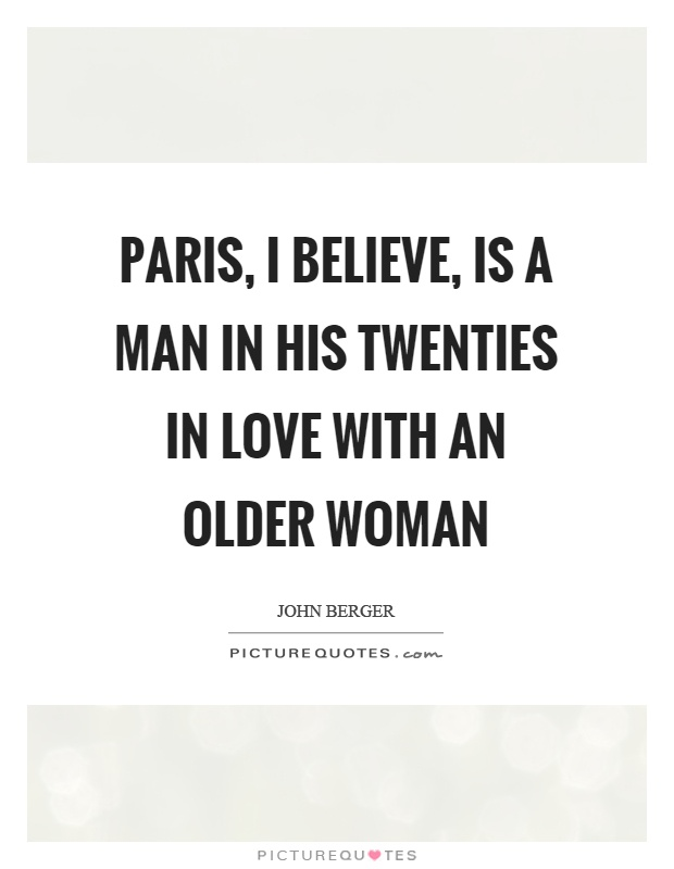 In love with an older woman quotes
