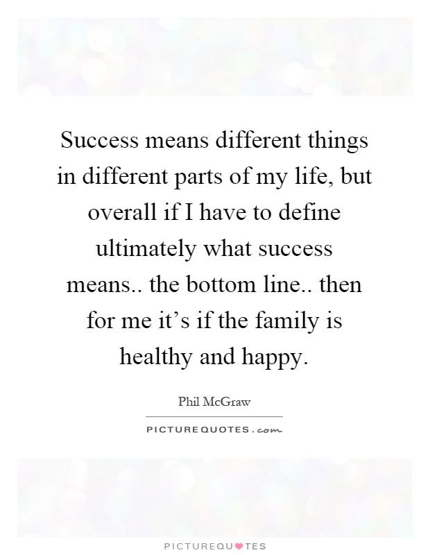 Define the bottom line