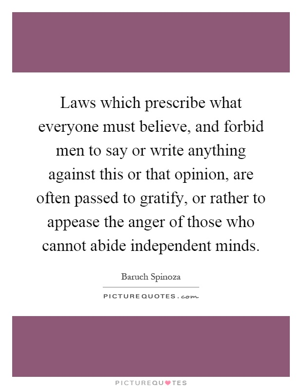What laws would you like to be able to say no to?