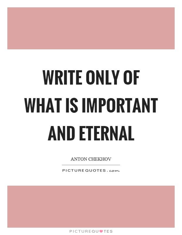 Risultati immagini per lovely chekhov quotes
