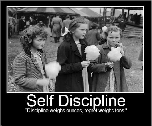 Discipline weighs ounces, regret weighs tons Picture Quote #2