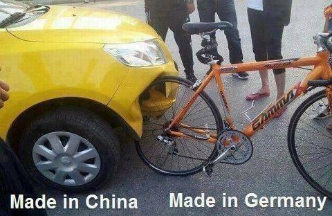 Made in China. Made in Germany Picture Quote #1