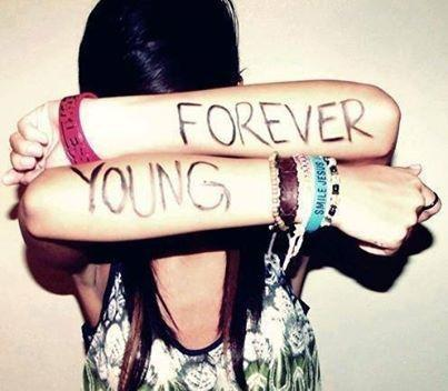 Forever young Picture Quote #2
