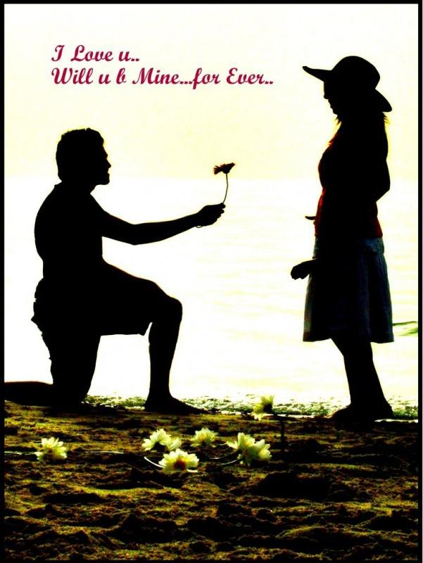 I love you. Will you be mine forever Picture Quote #1