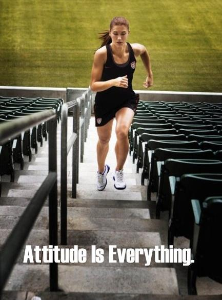 Attitude is everything Picture Quote #1
