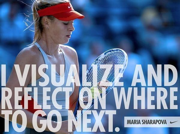 Maria Sharapova Quotes With Images: Reflect Picture Quotes