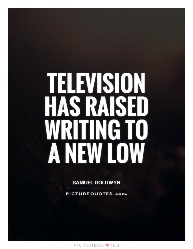 quote television essay