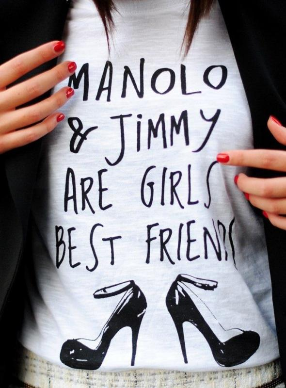 Manolo and Jimmy are girl's best friends Picture Quote #1