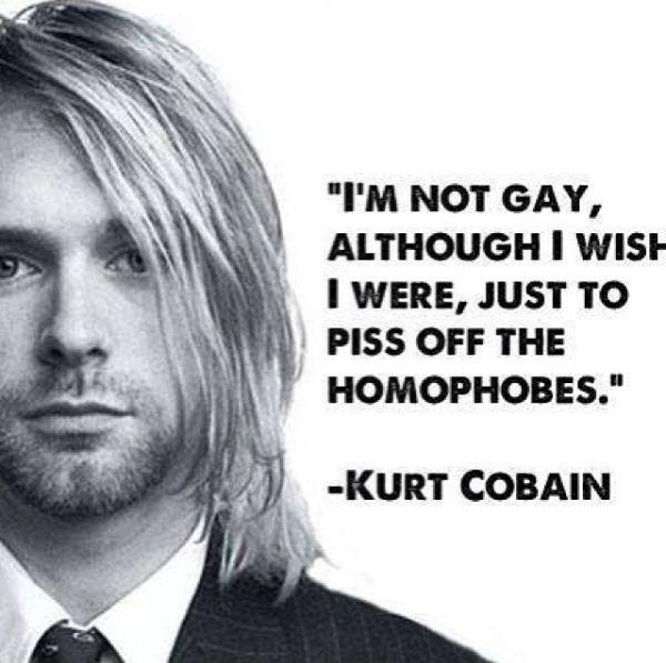 I'm not gay, although I wish I were, just to piss off homophobes Picture Quote #1