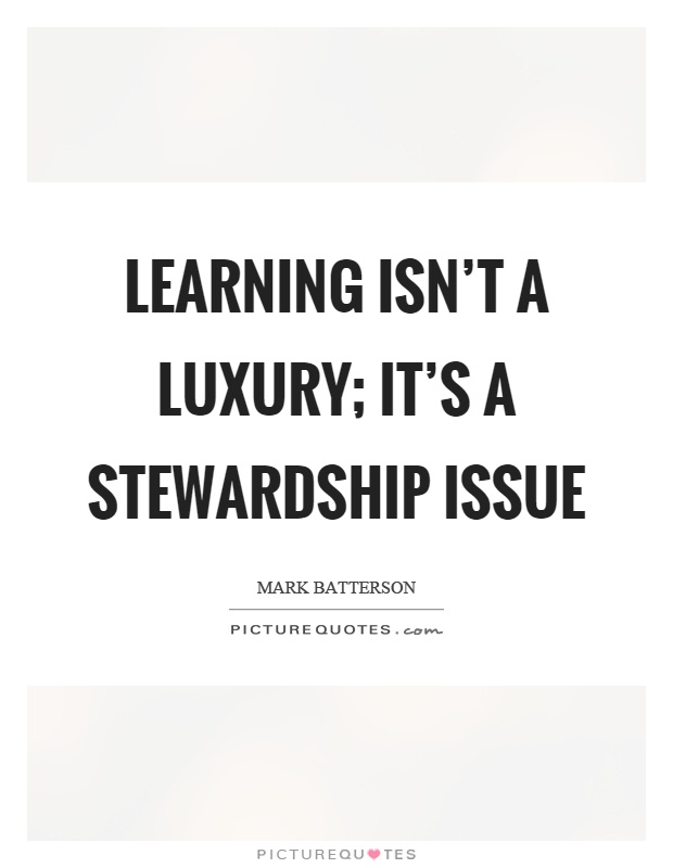Stewardship Quotes Awesome Stewardship Quotes & Sayings  Stewardship Picture Quotes
