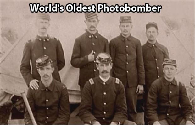 World's oldest photobomber Picture Quote #1