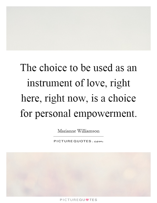 choice and empowerment Empowering clients and promoting independence page 5 k:\policies\policies 2013\empowering clients and promoting independencedoc first issued: jan 2003 version 6 issued: people will be supported to exercise choice and control over their lives.