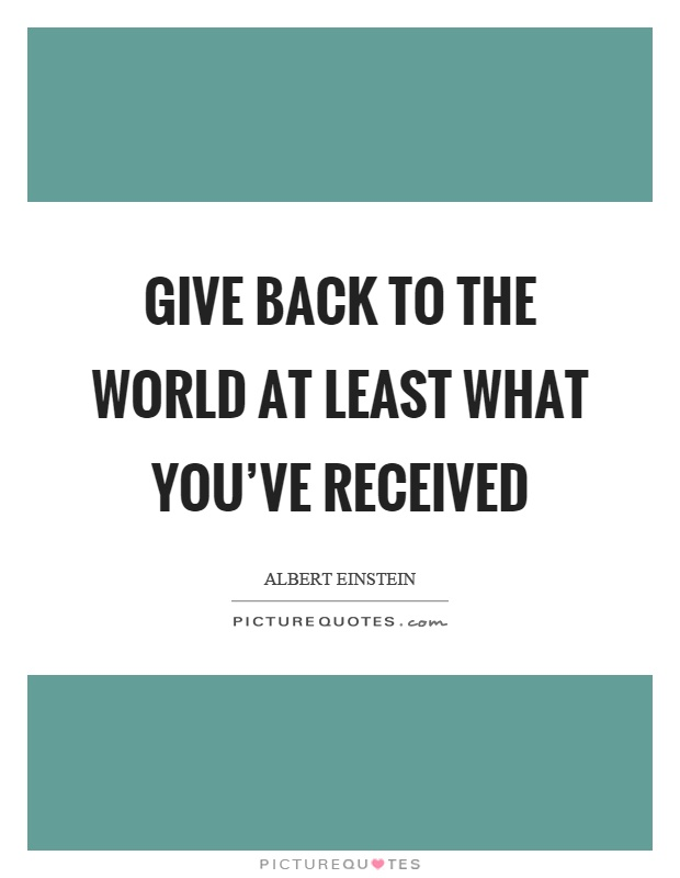Giving Back Quotes Sayings Giving Back Picture Quotes Best Quotes And Sayings On Giving