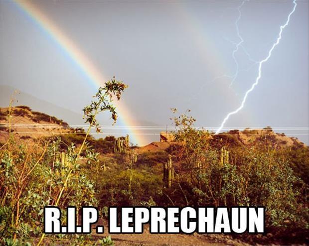 R.I.P. Leprechaun Picture Quote #1