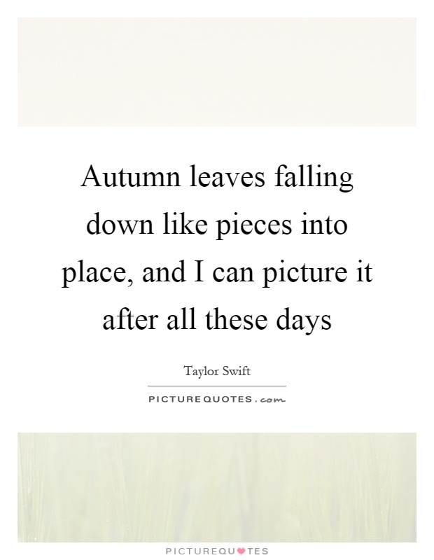 falling leaves quotes like - photo #9