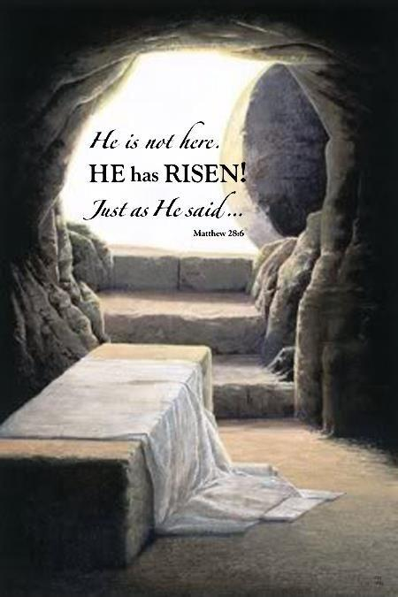 He is not here. He is risen! just as he said Picture Quote #1