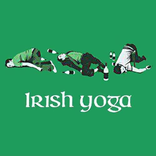 Irish yoga Picture Quote #1