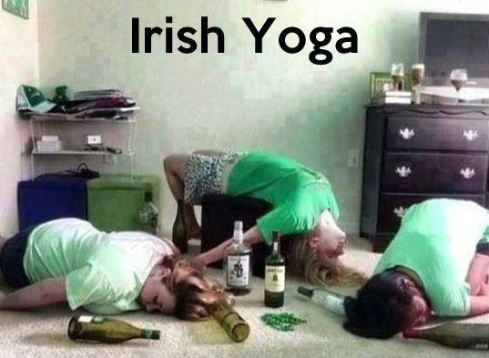 Irish yoga Picture Quote #2