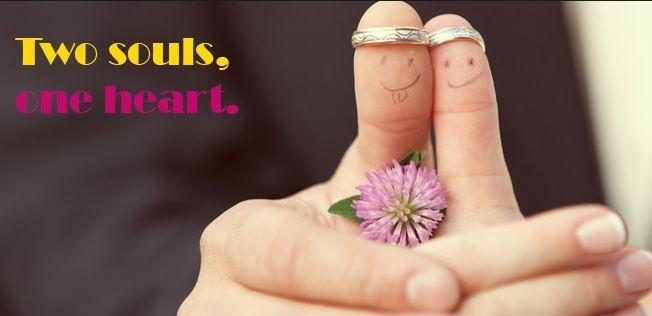 Two souls, one heart Picture Quote #1