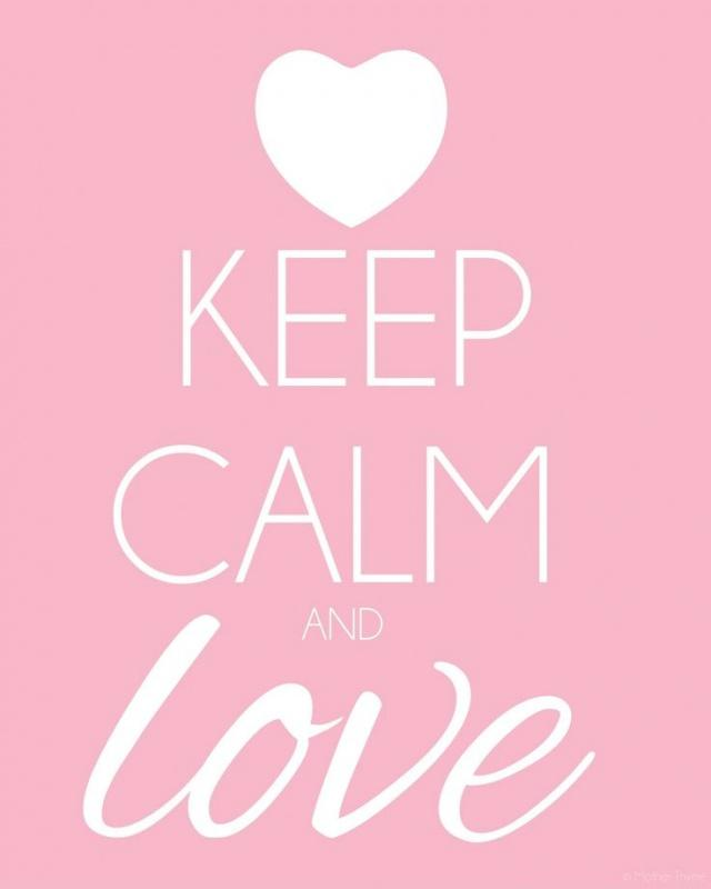 Keep calm and love | Picture Quotes