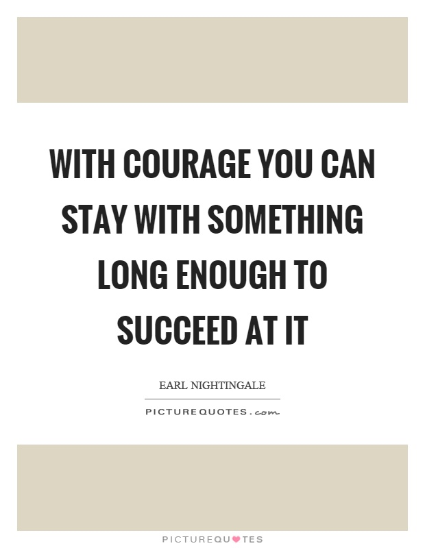 the courage to succeed pdf