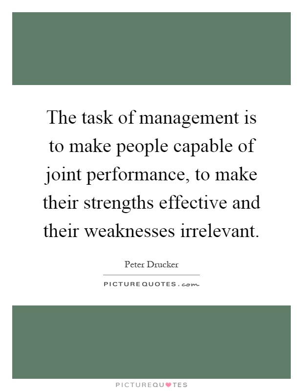 is the task of managing people Managing people the effective management of people in an organization requires an understanding of motivation task significance, autonomy, and feedback all were.