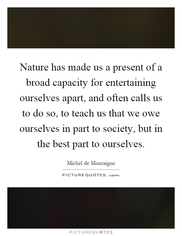 we are a part of nature not apart from nature We are not apart from nature, we are a part of nature and to betray nature is to betray us - prince ea quotes at azquotescom.