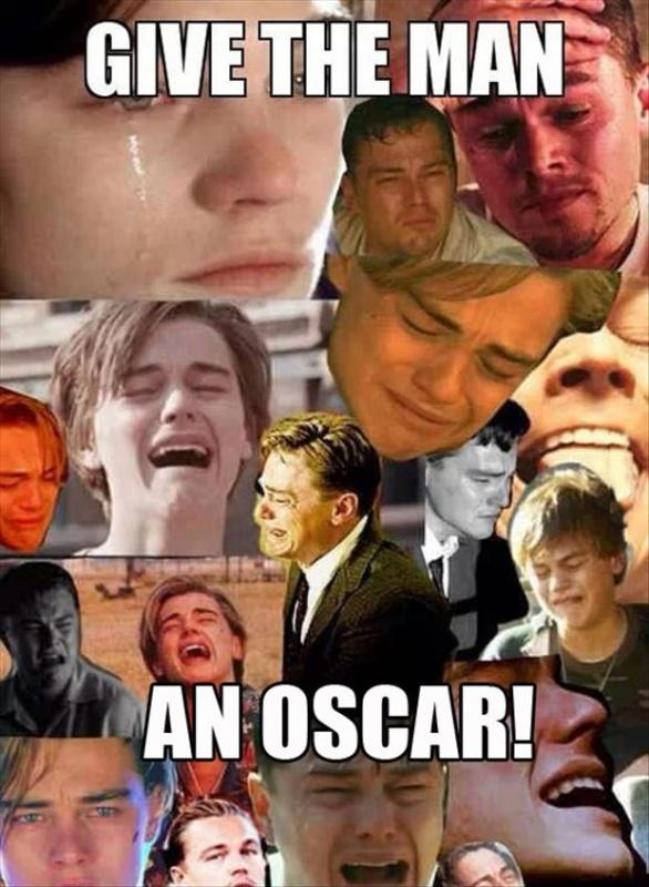 Give the man an Oscar! Picture Quote #1