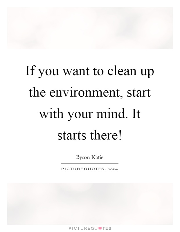 how to clean up the environment