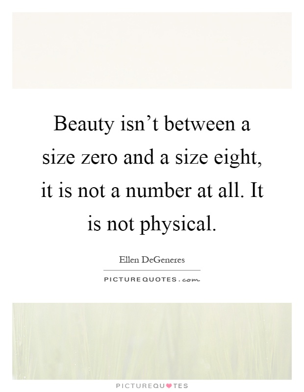 Size is not beauty