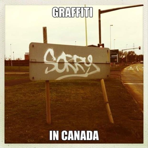 Graffiti in Canada Picture Quote #1