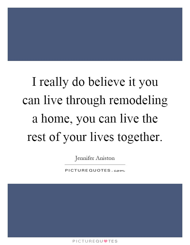 Home remodeling quote.