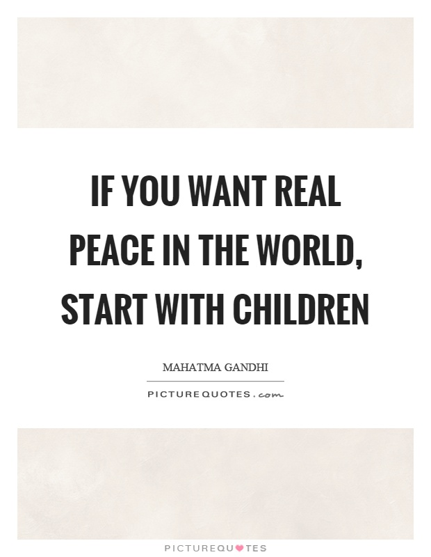 Peace In The World Quotes Sayings Peace In The World Picture Quotes