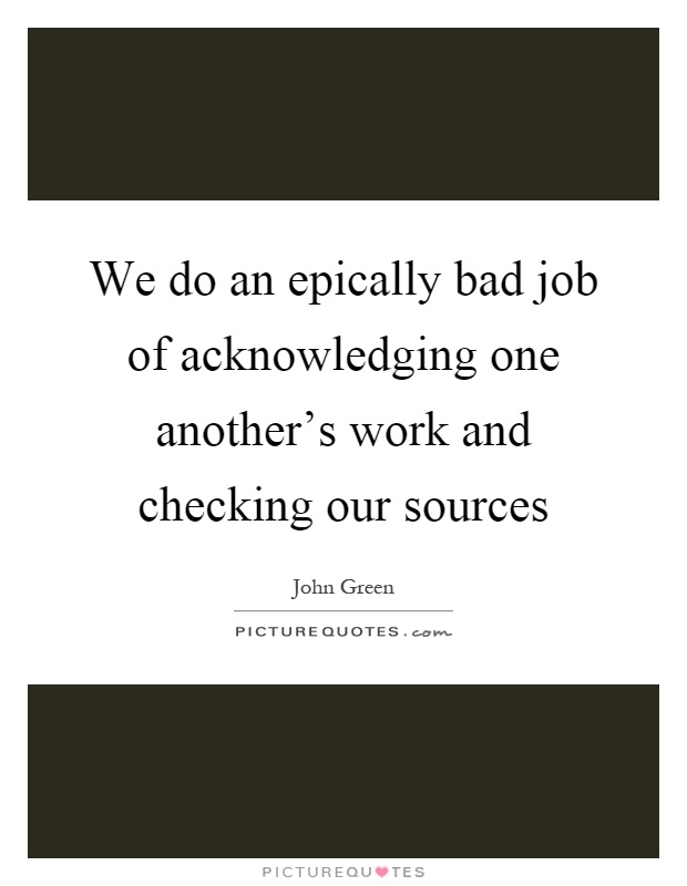 We Do An Epically Bad Job Of Acknowledging One Another S