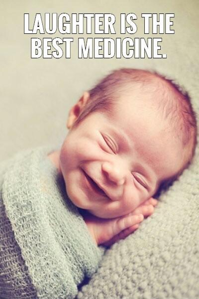 Laughter is the best medicine Picture Quote #1