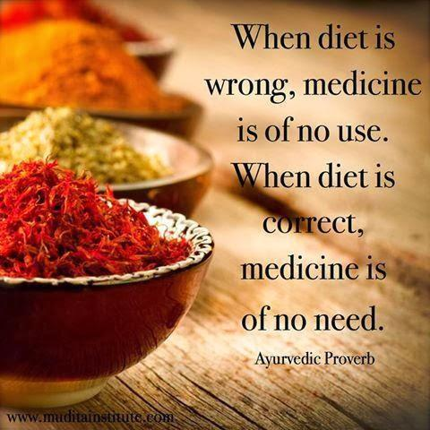 When diet is wrong, medicine is on no use. When diet is right, medicine is of no need Picture Quote #1